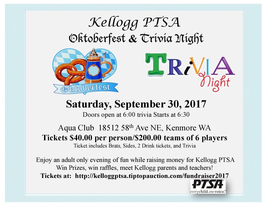 Octoberfest & Trivia Night