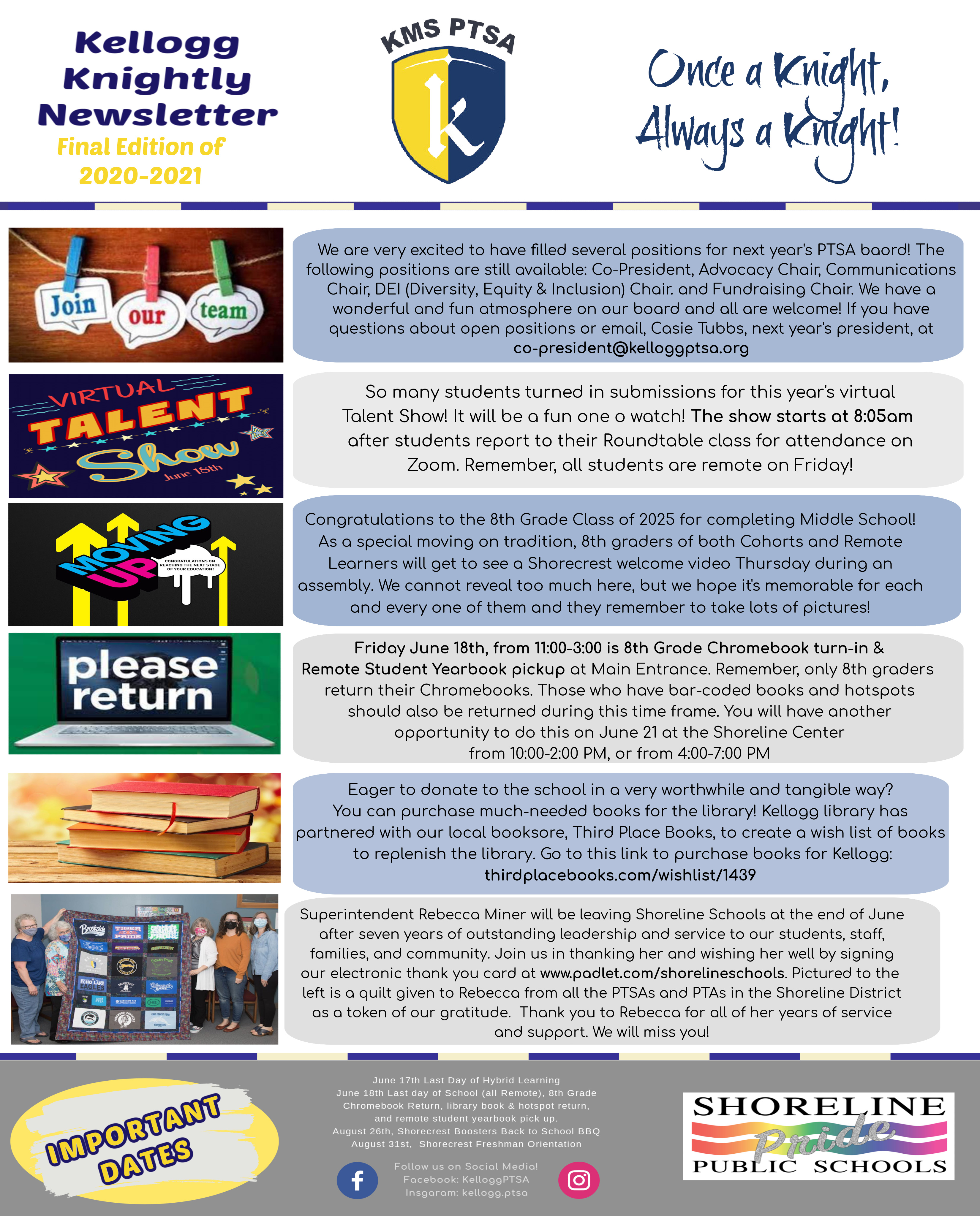 Final Edition Knightly News of 2020-2021